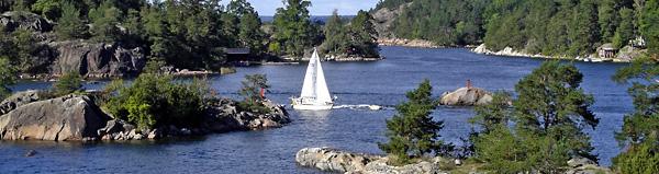 Grinda dans l'archipel de Stockholm
