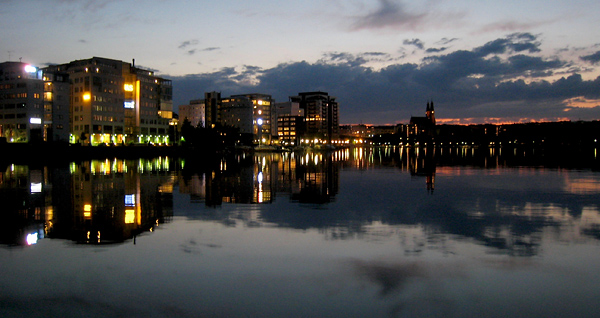 Liljeholmen de nuit