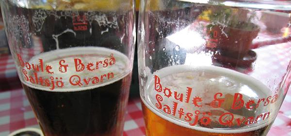 Une bière à Boule och Berså