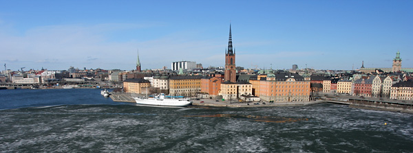 Stockholm depuis Monteliusvägen