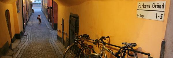 Gamla Stan, la vieille ville