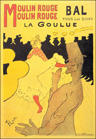 Moulin Rouge - Toulouse-Lautrec