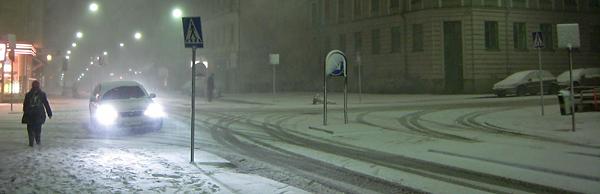 Vasastan sous la neige